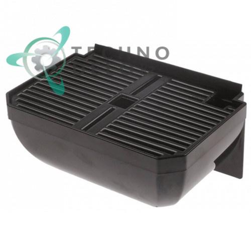 Поддон черный (емкость сбора капель 167x115x72мм) F059/F060 F059BM+F060BM для гранитора CAB NEW FABY 1-3
