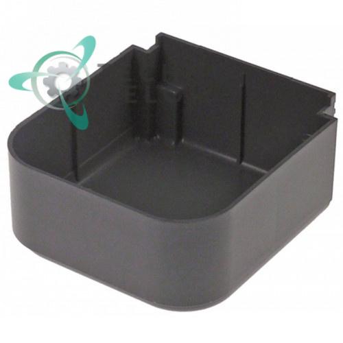 Поддон серый 115x123x58мм 22800-00610 для дозатора напитков (сокоохладителя) Ugolini CADDY 5-2/5-3/5-4, CADDY UL 5