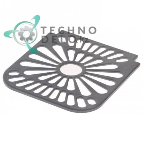 Решётка 22800-00510 109x117x4мм емкости сбора капель для профессионального холодильного оборудования Ugolini