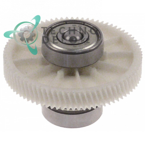 Шестерня ø42.3мм H-28мм ZZ.ZZ0001.002 для профессионального холодильного оборудования (дозаторы напитков) SPM