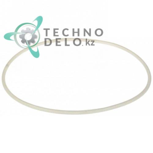 Кольцо PVC уплотнительное ø298мм H-7.3мм L0000106-001 для крышки гранитора Elmeco BB1/BB2/BIG BIZ 1 и др.