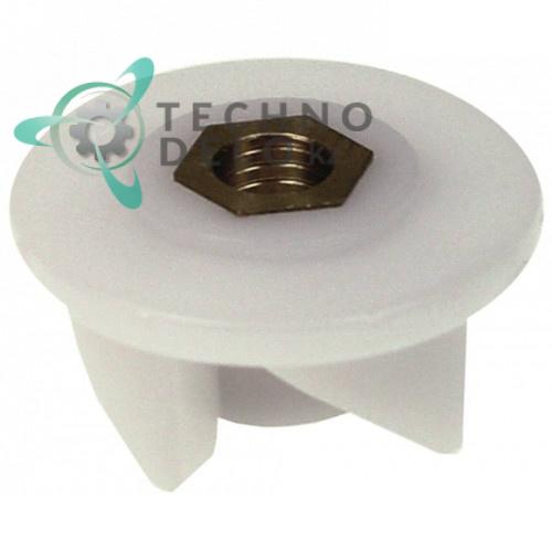 Муфта стакана XRFR9 / 6420128 (4 зуба) для блендера Vema, Sammic