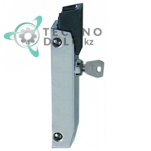 Замок кнопочный с ключом тип 6186 (34x180x28мм) MA720300 для Mareno SPAR, SVAR, SPRG и др.
