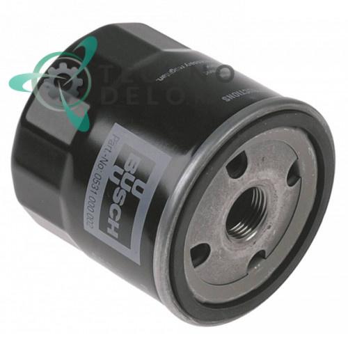Масляный фильтр Busch ø78мм 63-100 0939090 вакуумного насоса упаковщика Henkelman, Allpax, Cookmax и др.
