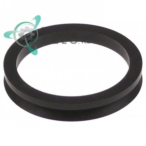 Кольцо V-образное ø45мм/ø55мм H-9мм 0065068 0065068000 вакууматора Henkelman Polar 2-75, Polar 2-85