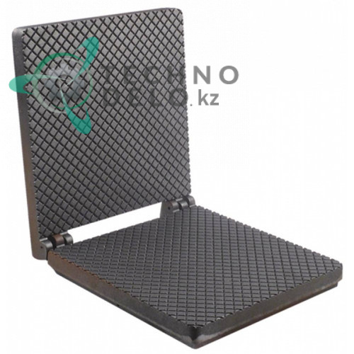 Плита в сборе (верх/низ) 250x250x60мм B02031PTR вафельницы Roller Grill GES40