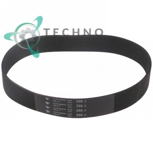 Ремень 36G6610 V-559 j12 для картофелечистки Fimar PPN, PPF, PLN и др.