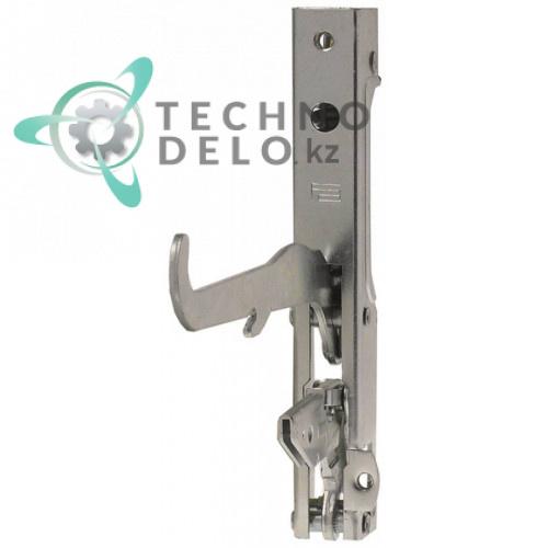 Петля левая дверная для печи Garbin 43DX, 43DX UM (L-148мм арт. CER43 / CER004 / CERDX43)