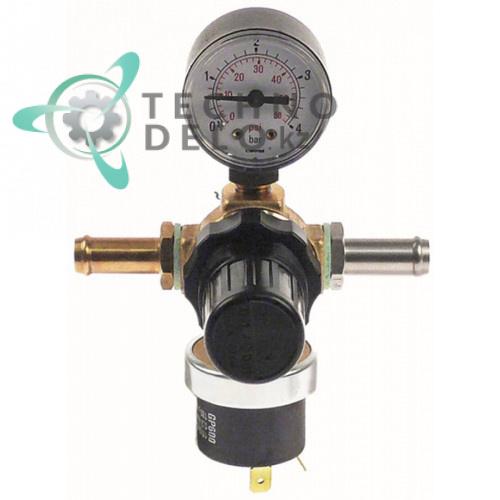 Сопло пара впрыскивающее с манометром ø1/ø10мм L-130мм 2226368 2230016 для оборудования Convotherm и др.
