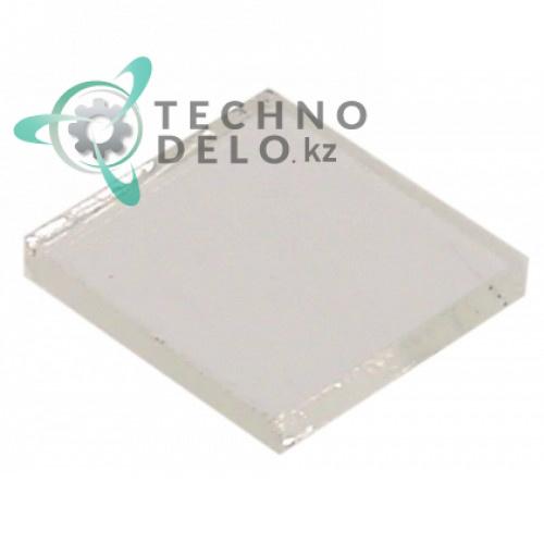 Стекло 29x29x3,5мм 37N1420 10043 для Angelo Po, Electrolux, Icos