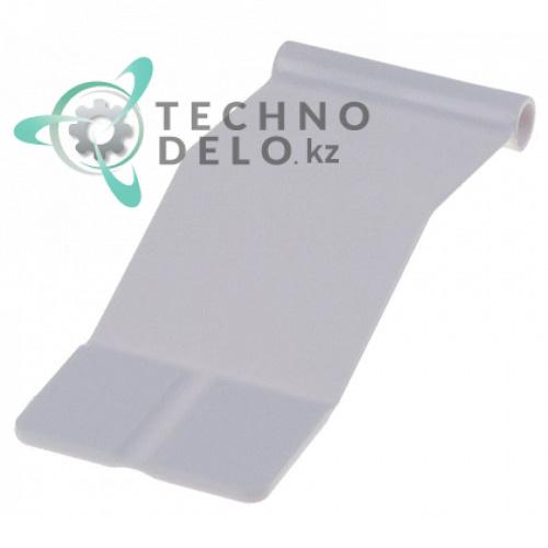 Пластинка 38x94мм ø6.5мм шторки для льдогенератора Horeca Select GIM1038/GIM2038 и др.