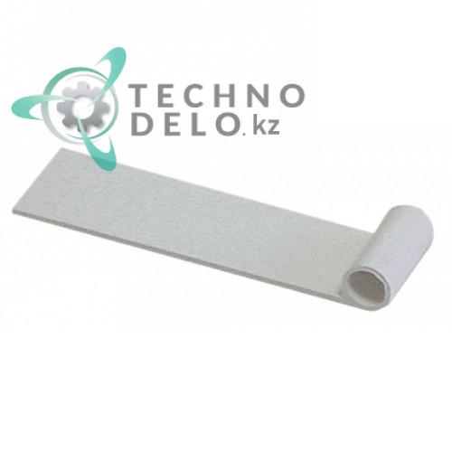 Пластинка 69x23мм ø8мм 10005 для шторки льдогенератора Brema, Electrolux, NTF