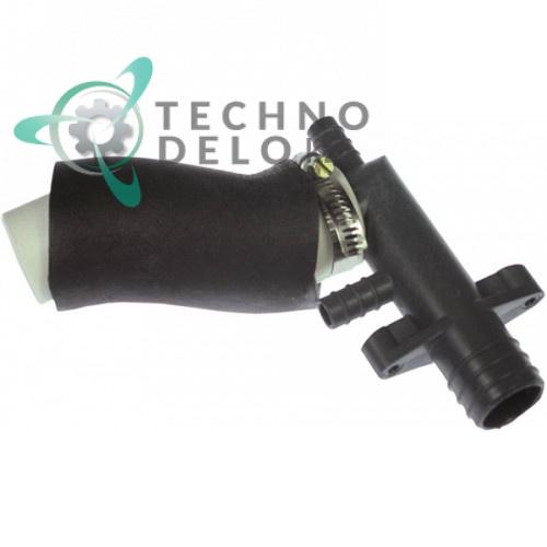Соединитель шланговый NC26452 льдогенератора Brema, Mastro, MBM, NTF и др.