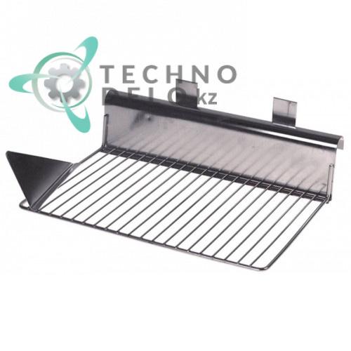 Решётка ледоскат 170x260мм 81413031 льдогенератора Icematic, SF Eismaschinen N30/N50 и др.