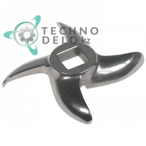 Нож mod.32 Enterprise Ø 90 по окружности / внутр. размер 15x15мм нержавеющая сталь