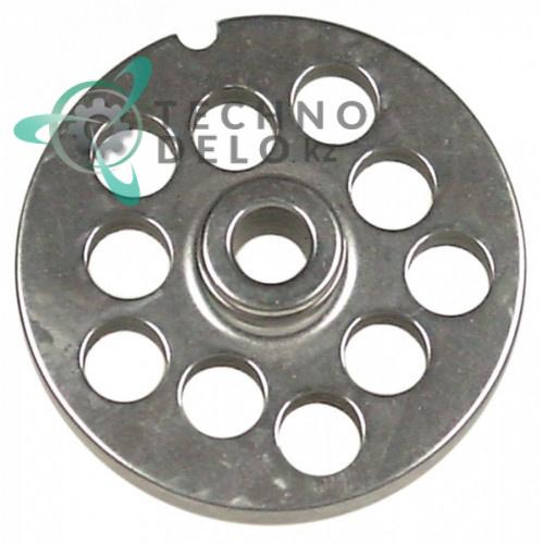 Решетка (Enterprise) для мясорубки 8 Ø ячейки 10мм под горловину Ø 62мм