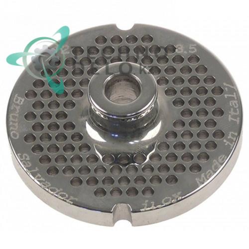 Решетка (Enterprise) для мясорубки mod. 12, ячейка 3.5мм /под горловину - Ø 70мм
