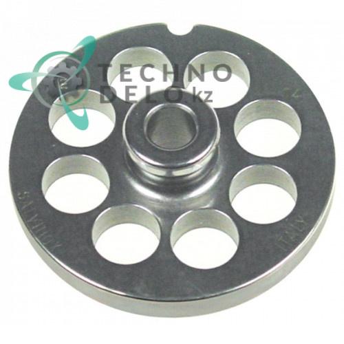 Решетка (Enterprise) для мясорубки mod. 12, ячейка 14мм /под горловину - Ø 70мм