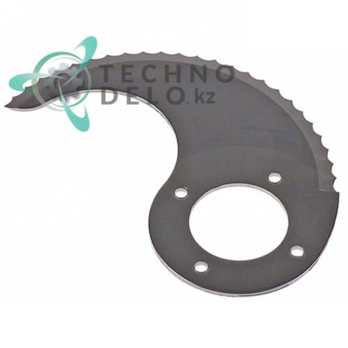 Нож верхний с зубцами MSC04N064Z куттера Sirman C4-C6
