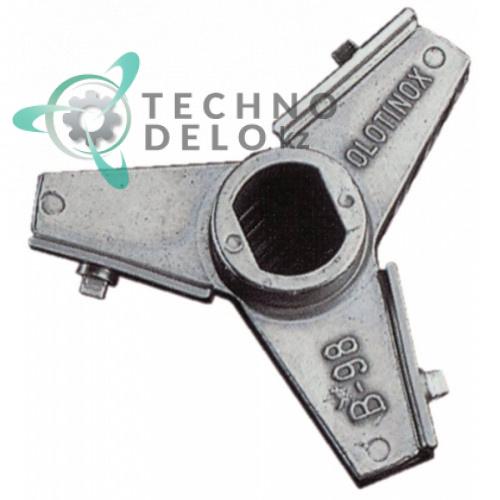 Нож Unger B-98 (32) Ø по окружности 90мм нержавеющая сталь с лезвиями