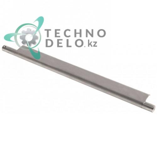 Скребок очищающий задний L-355мм DL030031 для тестораскатки Mecnosud DL30/DL30M