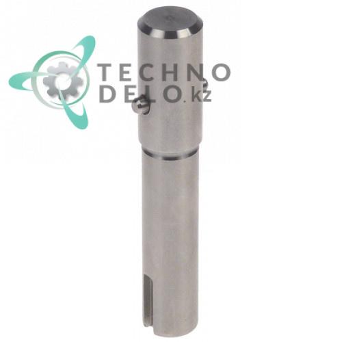 Вал металлический ø19мм/ø17мм общая длина 103мм SL1372 для профессиональной овощерезки Fimar 2000 и др.