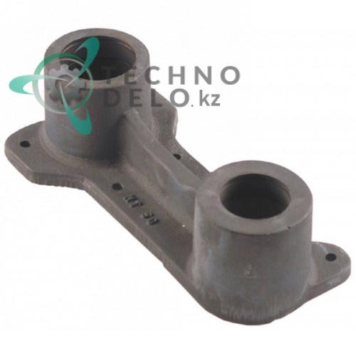 Кронштейн подшипника верхний внутренний ø52/ø62мм H-87мм 6NT50 для тестомеса Alimacchine NT50