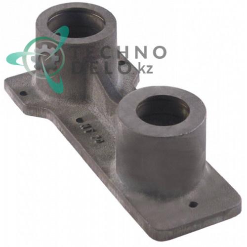 Кронштейн подшипника верхний внутренний ø52/ø62мм H-87мм 6NT70 для тестомеса Alimacchine NT70