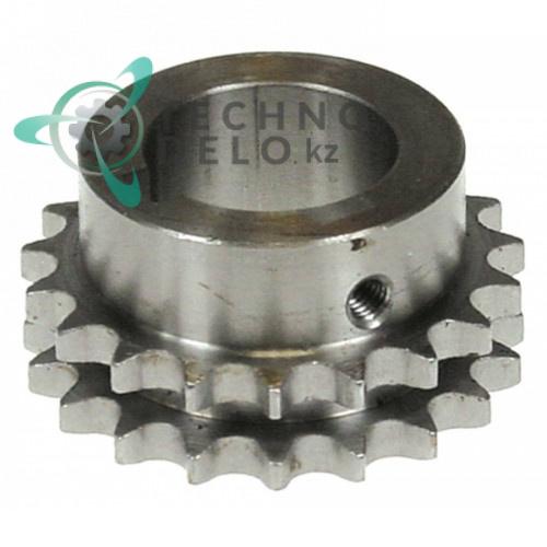 Звездочка цеппная DIN/ISO 06 B-2 для тестомеса Alimacchine