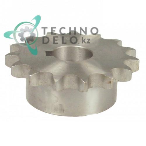 Звездочка DIN/ISO 10 B-1 ø25мм H30мм SL2733 тестомеса Fimar IM50C/IM50F и др.