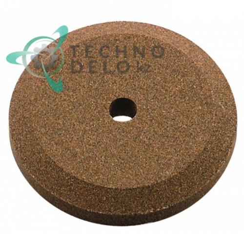 Заточной камень ø50мм/ø6мм (мелкий абразив) CO3900 для ножа слайсера Fimar, Sirman и др.