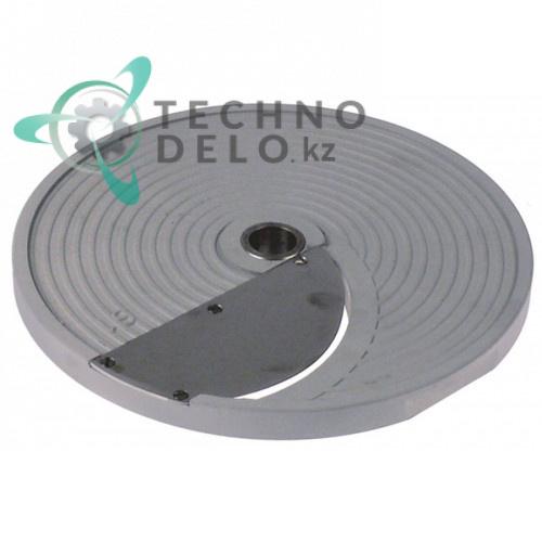 Диск S1 D-206мм посадочное отверстие 19мм нарезка 1мм DISCOS1 для профессиональной овощерезки Celme, Fimar и др.