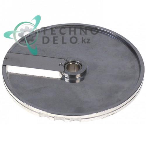 Диск DF8 D-205мм посадочное отверстие 19мм нарезка 8мм 40751DF08 для профессиональной овощерезки Sirman TM