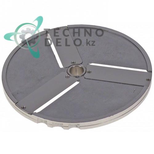 Диск DF1 D-205мм посадочное отверстие 19мм нарезка 1мм 40751DF01 для профессиональной овощерезки Sirman TM