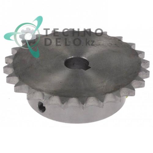 Звездочка цепная 24 зуба (код 410245) для посудомоечной машины Comenda и др.