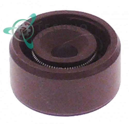 Уплотнение (сальник вала) ø4мм/ø12мм H-6,3мм 0632 для миксера Dynamic DMX-160/DMX-190, Horeca-Select и др.