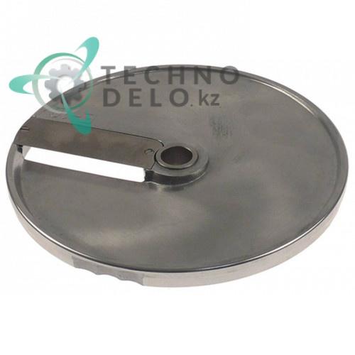 Диск E10 D-205мм посадочное отверстие 19мм толщина слайсов 10мм DISCOE10 для овощерезки Celme, Fimar и др.