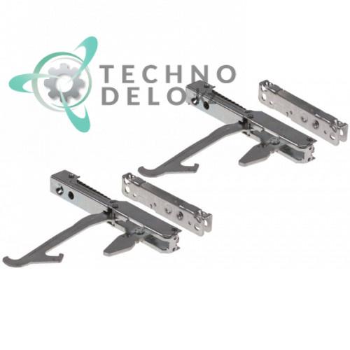 Комплект дверных петель KCR008 / KCR0070A для печи Unox Arianna, Elena (модели XF 030/035/065/085)