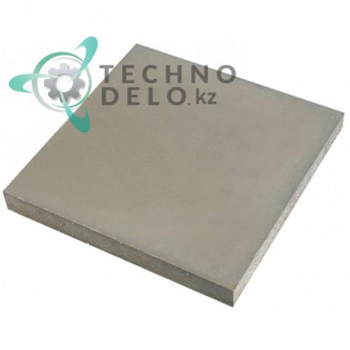 Плита термостойкая (шамотный камень) 330x330x30мм 91610072 / ADNM00011 для печи Cuppone G433, Electrolux