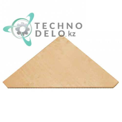 Плита термостойкая (шамотный камень треугольный) 590x590x19мм ADNM00022 для Cuppone EVOLUTION