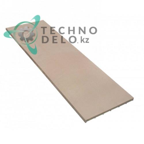 Плита термостойкая (шамотный камень) 1050x350x19мм 91610056 / ADNM00018 для Cuppone MAX12/35L и др.