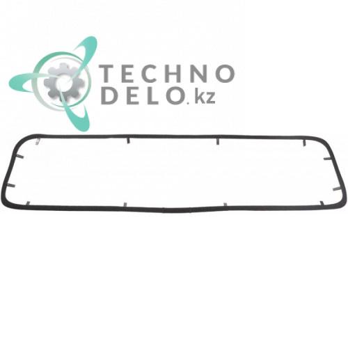 Уплотнитель термостойкий 725x210мм для пицца печи GAM M-MD-ME-MS (арт. RFORM07 / RG100506)