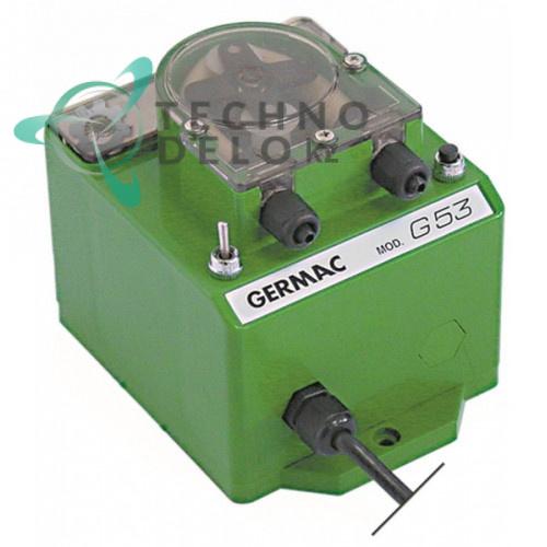 Дозатор Germac G53 9л/ч 230VAC моющее средство шланг термопласт 4x6 мм