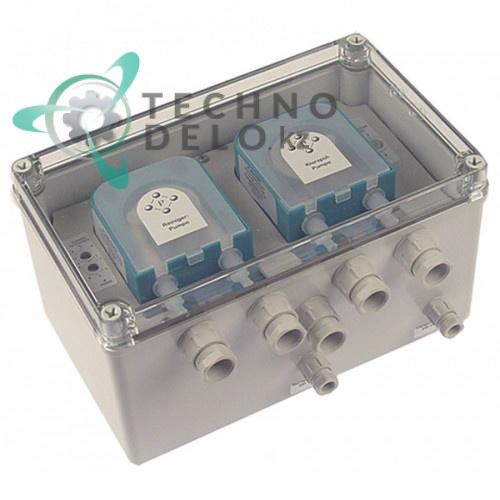 Дозатор двойной PLAS-CONT DUO DU06.15 IP65 230VAC ополаскиватель/моющее средство