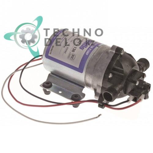 "Насос SHURflo 8010-252-136 24VAC 3.6 л/мин 4,1 бар фитинги 3/8"" NPT для дозатора напитков"