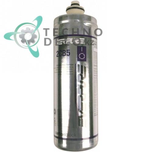 Фильтр водяной Everpure 2CB5 228 л/ч 0,5 мкм D-80мм H-206мм QL2/QL3 для вендингового автомата с напитками