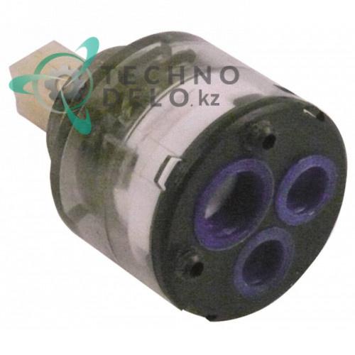 Картридж керамический ø35мм/ø23.5мм 9x9мммм H-56мм для крана-смесителя ручного душа GASTROTOP SHORT LINE