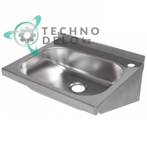Раковина 400x320x180мм ø35мм материал нержавеющая сталь для профессионального использования