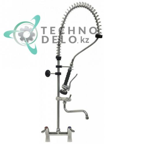 Душ ручной для мойки посуды 1/2 с двухчастным краном-смесителем (поворотные вентили) GASTROTOP CLASSIC Standard 548915