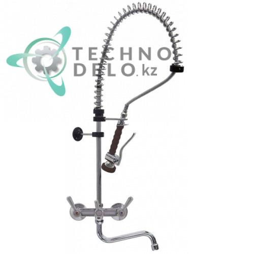Душ ручной для мойки посуды 1/2 с настенным краном-смесителем (поворотные вентили) GASTROTOP CLASSIC Standard
